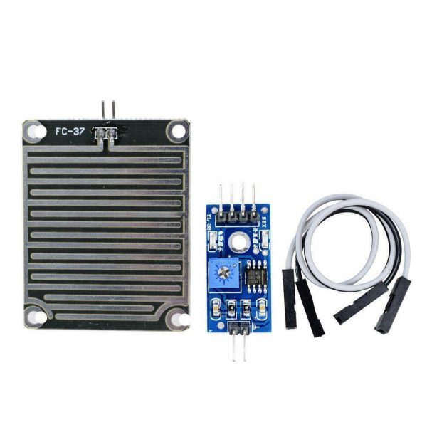 Regnsensor Raindrops Detection Sensor Arduino Module Rain Weather Module Humidity FC 37 RegnsensorRaindrop
