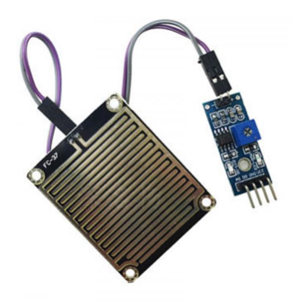 Regnsensor Raindrops Detection Sensor Arduino Module Rain Weather Module Humidity FC37 RegnsensorRaindrop