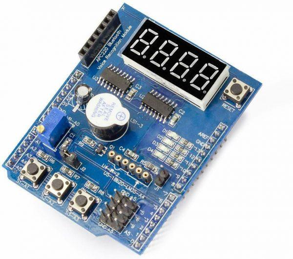 Arduino Multifunksjonskort - Multi-Function Shield ProtoShield For Arduino UNO LENARDO MAGE2560 Komplettmodul 1