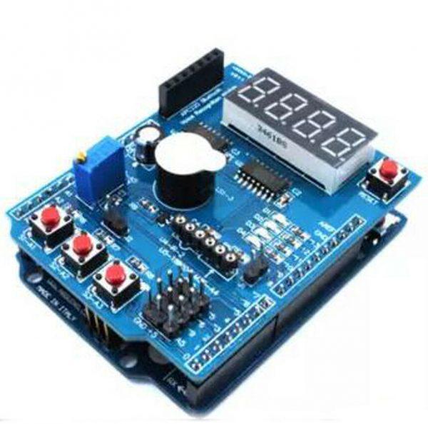 Arduino starter kit - med blant annet integrerte komponenter - les mer Komplettmodul3