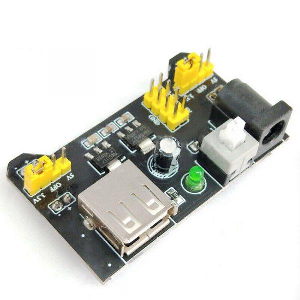 1PC MB102 Breadboard Power Supply Module 3.3V 5V/7-12V For Arduino Bread Board PowerSupply2