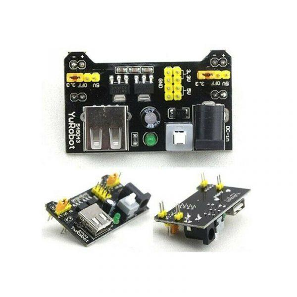 1PC MB102 Breadboard Power Supply Module 3.3V 5V/7-12V For Arduino Bread Board PowerSupply3