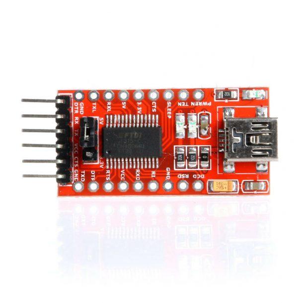 USB til Seriell - FT232RL Serial02