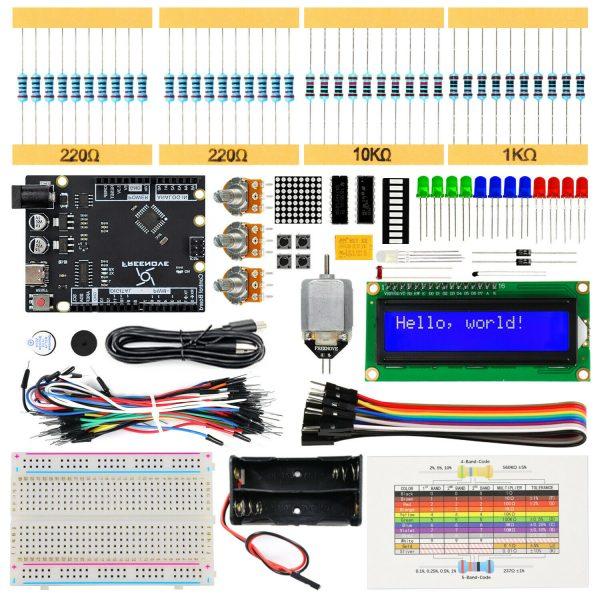 Arduino starter kit - utviklingssett for innovatører Freenove