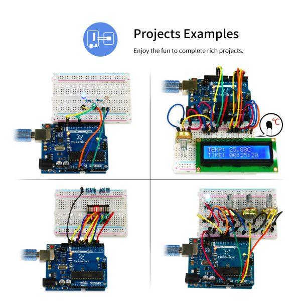Arduino starter kit - utviklingssett for innovatører freenove2