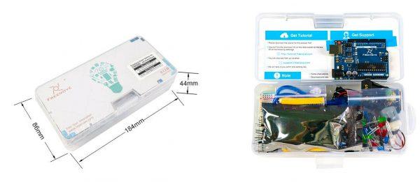 Arduino starter kit - utviklingssett for innovatører freenove3 e1604413358544