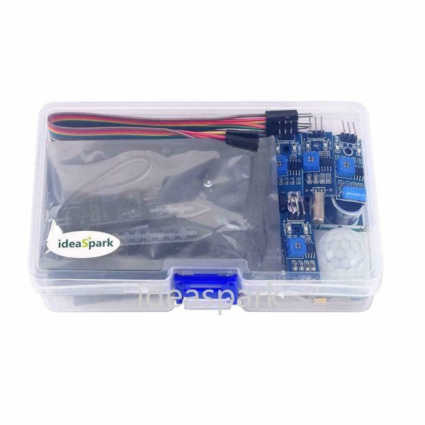 Arduino Kit med 22 sensormoduler - Sensor Modules Kit for Arduino, NodeMCU, Raspberry Pi osv (ideaSpark) kit22sensor06